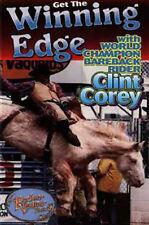 """The Winning Edge"" Clint Corey instructional bareback riding dvd - 90 minutes"