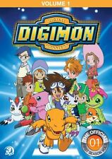 DIGIMON SEASON 1 VOLUME 1 New Sealed 3 DVD Set