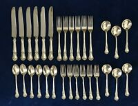ANCESTRY by Weidlich, 1940 Sterling Silver Flatware 30 Pieces Service for 6