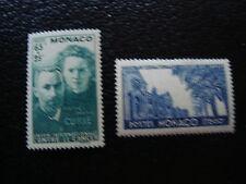 MONACO - timbre yvert et tellier n° 167 168 n** (A10) stamp