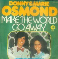 """7"""" Donny & Marie Osmond/Make The World Go Away (D)"""