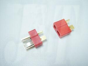 10 paar Dean Ultra Stecker Stecker Männlich Weiblich T stecker RC ESC Batterie
