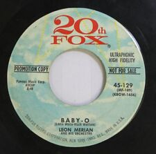 50'S & 60'S 45 Leon Merian And His Orchestra - Baby-O / The Rockin' Bee On 20Th