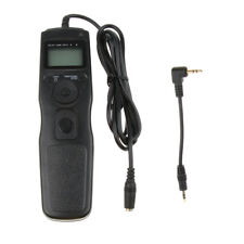 LCD Display Shutter Release Wired Timer Remote Control for Canon/Pentax DSLR