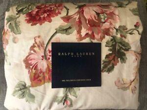 RALPH  LAUREN  SUSSEX  GARDENS  QUEEN   DUVET / COMFORTER  COVER  KATHLEEN 300TC