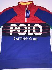 Nwt Polo Ralph Lauren Rafting Club Half Zip Limited Edition M Kayak Climb 1992