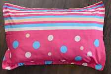 NEW ONE PAIR of Brushed Cotton Polka dots prints Kids Pillowcases Pillow slips
