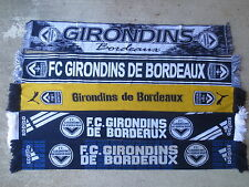 Lot 5 Echarpe GIRONDINS de BORDEAUX Puma Adidas football collection supporter