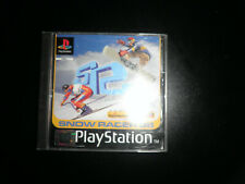 sony playstation  - snow racer 98  - 100% complete