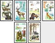 Timbres Animaux RDA Allemagne 1940/5 ** lot 20739