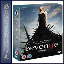 REVENGE - COMPLETE SERIES SEASONS 1 & 2 **BRAND NEW DVD **
