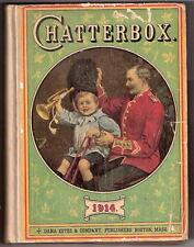 CHATTERBOX 1914  J. Erskine Clarke M.A.       Dana Estes & Co   EX    1914