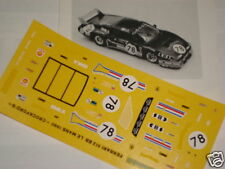 FERRARI 512 BB CROCKFORDS LE MANS 1980 1/43 DECALS