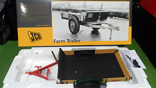 REMORQUE TRACTEUR FARM TRAILER MAKER JCB 1/16 UNIVERSAL HOBBIES UH 2712 miniatur