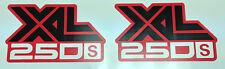 HONDA XL250 XL250S LATO Pannello DECAL 3
