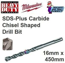 Milwaukee 4932307082 SDS Drill Bits Suits Masonry Concrete Stone 16 X 450mm
