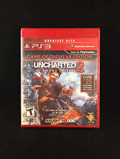 Uncharted 2: Among Thieves -- Game of the Year Ed. (PS3 Playstation 3)