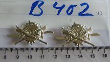 Schützen Mützenabzeichen silbern 2 Stück (B402)je2,45