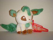 "Pokemon LEAFEON Plush Stuffed Toy 5""/12cm Kids Doll Gift US SELLER"