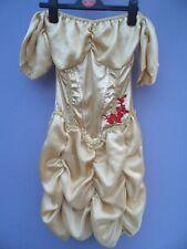 Ladies Sexy Belle Princess Fairytale Beauty Beast Costume Fancy Dress Size S
