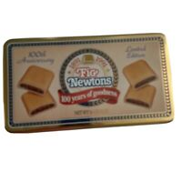 Vintage Fig Newtons 100th Anniversary Collector's Tin 1891-1991 Nabisco EXC!