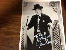 Western Movie/ TV Photo: Autographed by Gene Barry, Bat Masterson