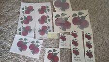 Ceramic Decals Apples     D