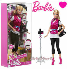 Barbie I can Be A Fashion Photographer Doll Outfit Camera Accessory Careers New