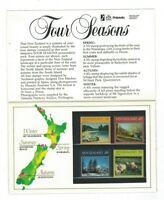 NZ405) New Zealand 1982 Four Seasons Presentation Pack MUH
