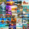 5D DIY Full Drill Diamond Painting Bottle Landscape Home Cross Stitch Embroidery