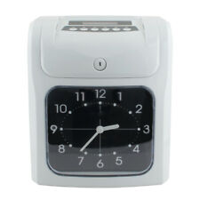 【CA】 Employee Attendance Punch Time Clock Payroll Recorder LCD Dispiay Easy Use