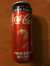 COCA COLA CAN #6 - 330ml - STAR WARS The Rise of Skywalker RARE POLISH EDITION