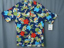 Hilo Hatties Mens Medium Shirt Rayon NWT