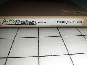 Sizzix Tim Holtz Alterations Vintage Camera Die - 657834 HTF & Retired Die Only