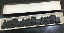 Vintage Cast Iron General Train Paperweight Engine Souvenir Collectibles Metal