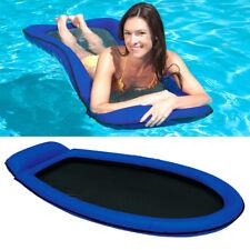 INTEX Mesh Lounge Blau 178x94 Wasserliege Luftmatratze Ring mit Netzeinsatz