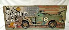 21st Century MINT WWII 1/6 US M3 Scout Car w/.50cal & .30cal MGs NEW open box
