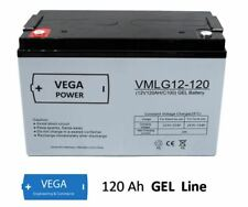 12V 120Ah Gel - Bleigel Batterie Akku  Boot Wohnmobil Caravan C100