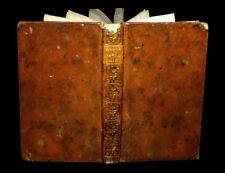 [MEDECINE Imp. AVIGNON] Manuel de chirurgie pour la campagne et la mer. 1762.