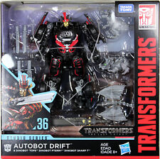 Transformers Studio Series ~ DRIFT FIGURE w/BABY DINOBOTS #36 ~ Deluxe Class