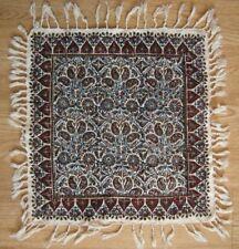 Persian ghalam kar handmade hand printed tapestry tablecloth calico fine art