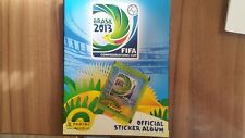 PANINI LEERALBUM Confédérations Cup 2013 EMPTY ALBUM + 1 Sac Pack * Très bon état