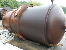 2500 Gallon Stainless Lined Reactor Asme 200 Psi With Agitator And Dish Bottom