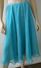 CASADEI by Stitches ladies size 12 shirt elastic waistband sheer overskirt
