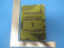 1987 Book Soldier's Manual of Common Tasks, Skill Level 1, Dept of the Army M301