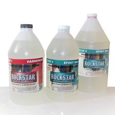 Rockstar 4 Star Thin Coat Resin 2 Gallon Kit 31 Mix Rock Hard