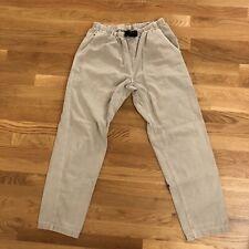 New listing Gramicci Womens Hiking Climbing Pants Vintage Cotton Medium 10/12 Brown Flaw*