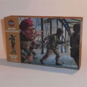 Airfix Empty Repro Box  British Paratroopers Paratroops 1:32 Scale #1712b