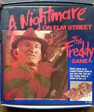 Vintage 1989 A Nightmare On Elm Street The Freddy Game Board Game Complete! RARE