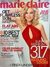 Marie Claire - June 2006. Julia Stiles 10 BEST ISSUE. Mens SEX Diaries BIG O NEW